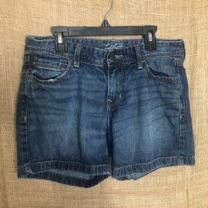 Old Navy Flirt 4 Jean Shorts Denim Casual Jeans